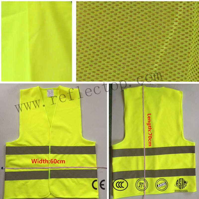Airport Reflective Safety Vests