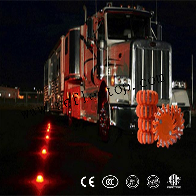 Led Emergency orange Safety Flare Lights