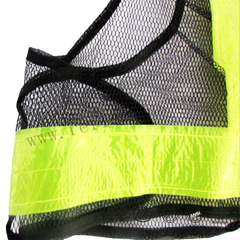 reflective safety vest for workers