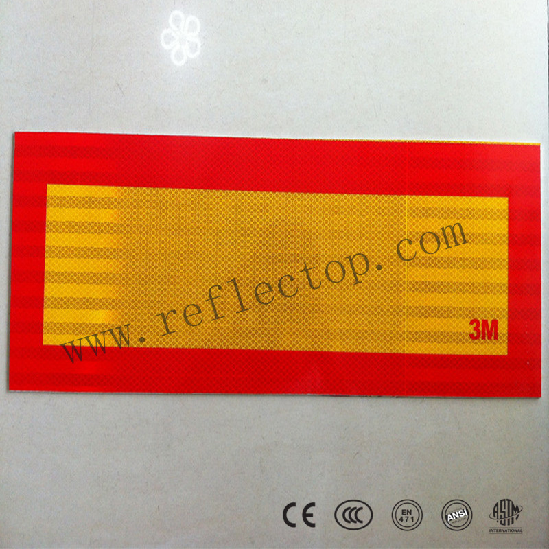 Aluminium reflective marking plate reflective tape for truck
