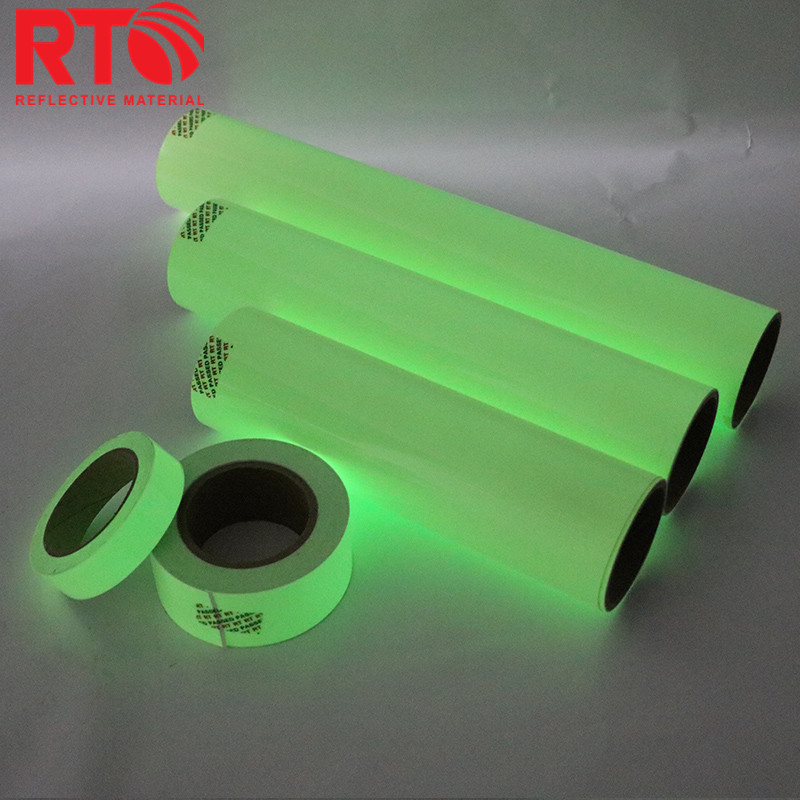 Glow In The Dark Photoluminescent Vinyl Film