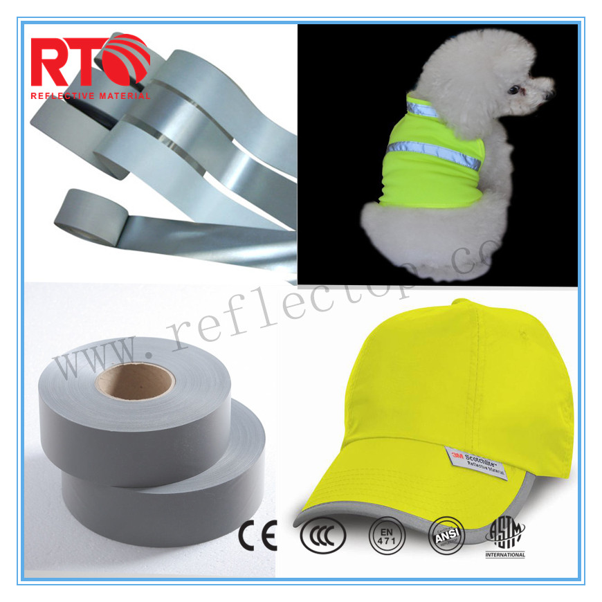 High Visibility Reflective Fabric For safety vest