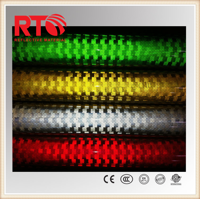 reflective vinyl for traffic signals