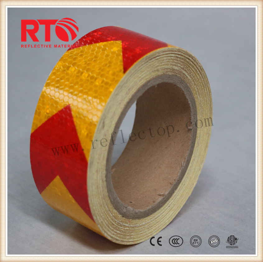 Pvc warning reflective tape for truck