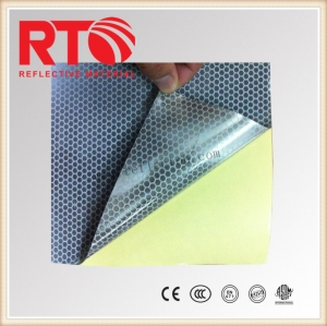 PET metallized polyester vinyl for delineators