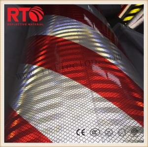 reflective hazard tape for vehicle
