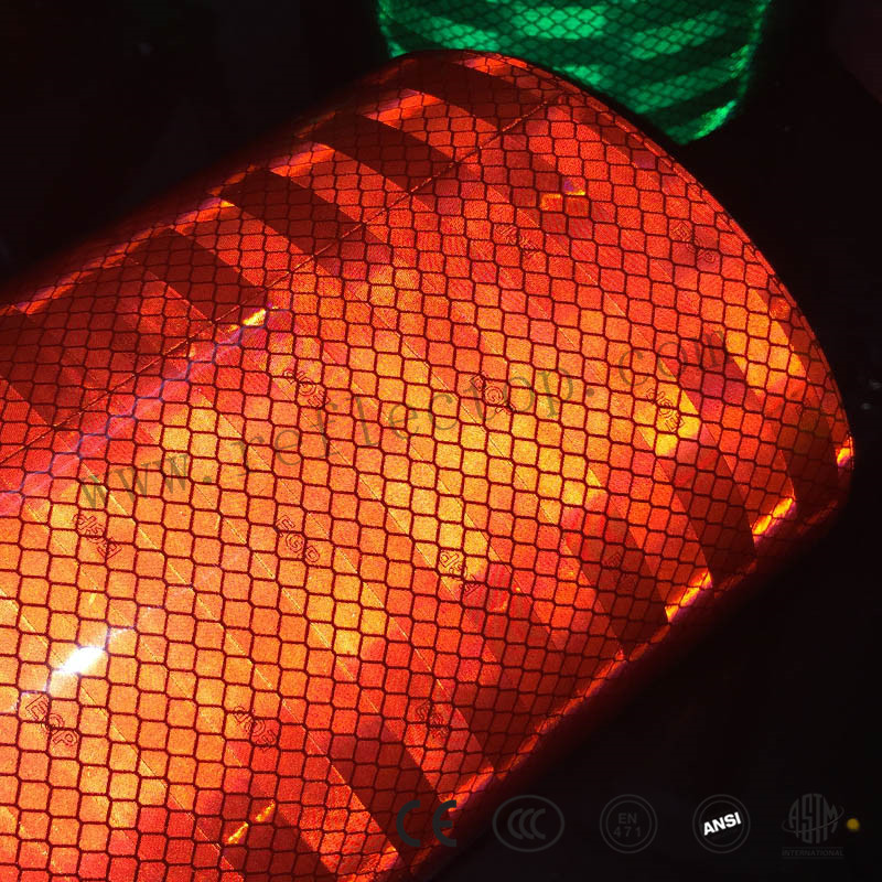 Reflective film for road signs