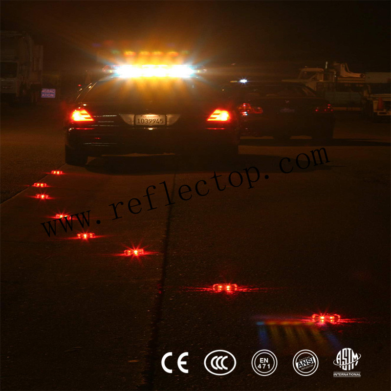 Orange LED Road Flares