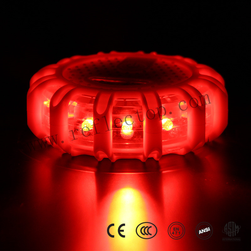 Red LED Road Flares