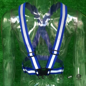 Multi Color Reflective safety vest