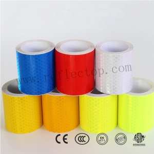 reflective adhesive tape for warning